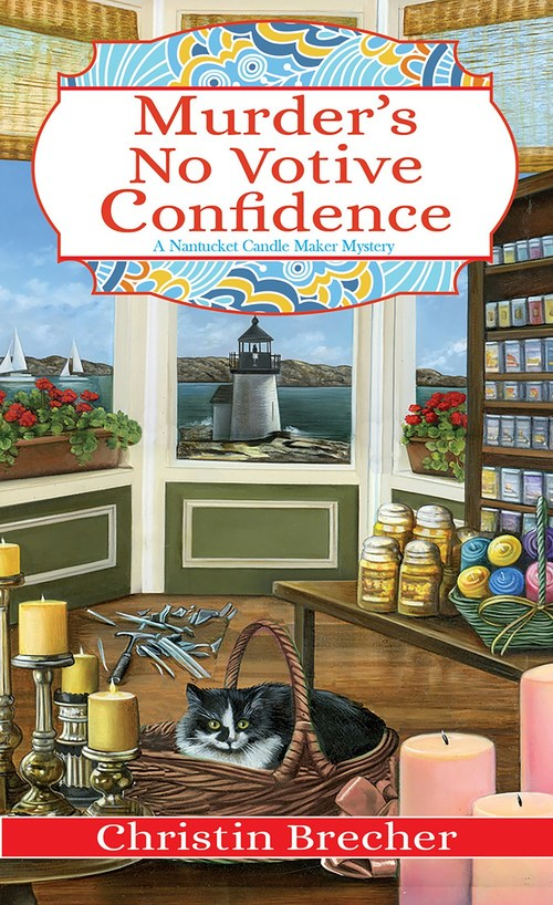 Murder's No Votive Confidence by Christin Brecher