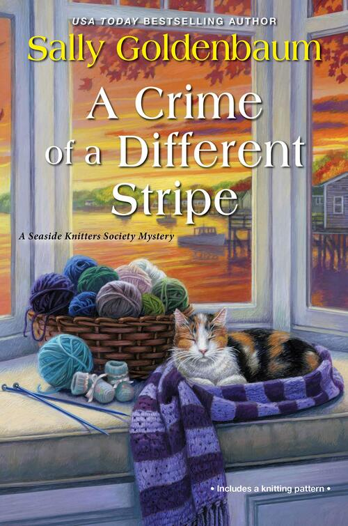 A Crime of a Different Stripe by Sally Goldenbaum
