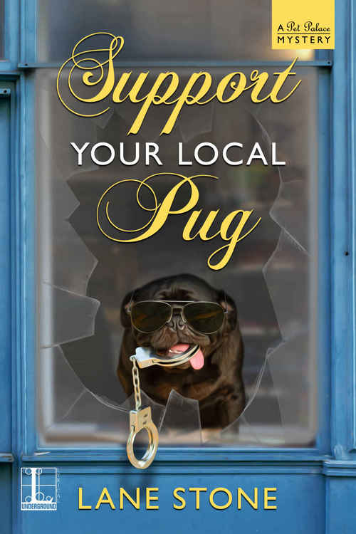 Support Your Local Pug by Lane Stone
