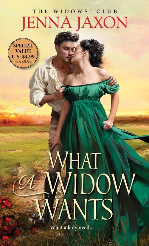 What a Widow Wants by Jenna Jaxon