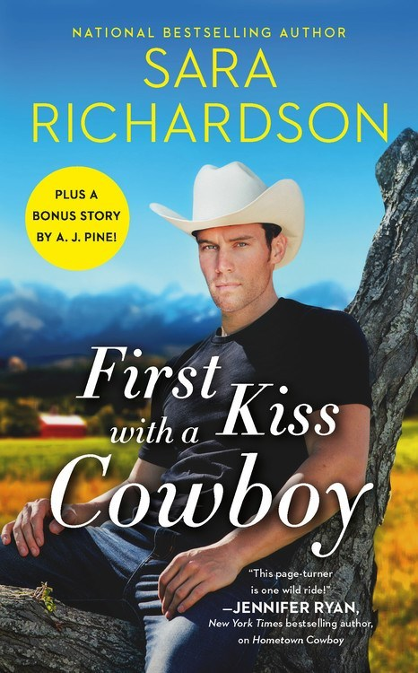 First Kiss with a Cowboy