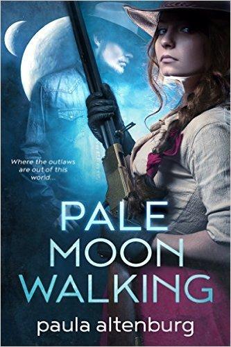 Pale Moon Walking by Paula Altenburg