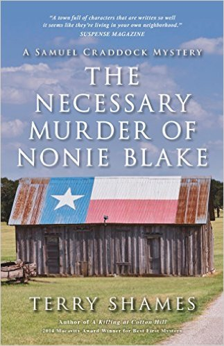 The Necessary Murder of Nonie Blake by Terry Shames