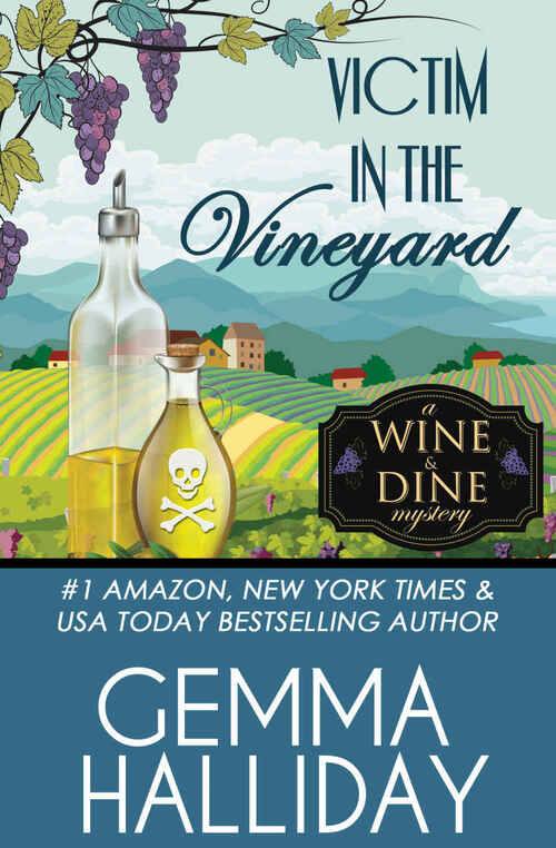 Victim in the Vineyard by Gemma Halliday