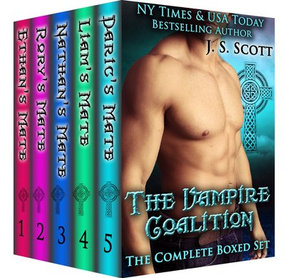 The Vampire Coalition Complete Box Set by J.S. Scott