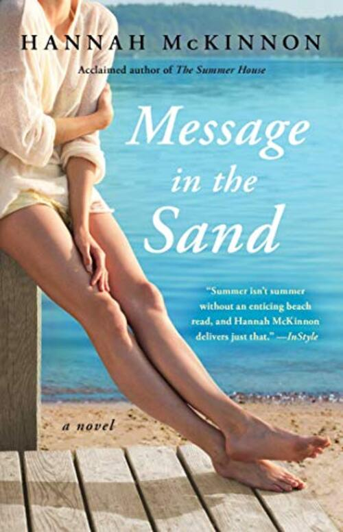 Message in the Sand by Hannah McKinnon