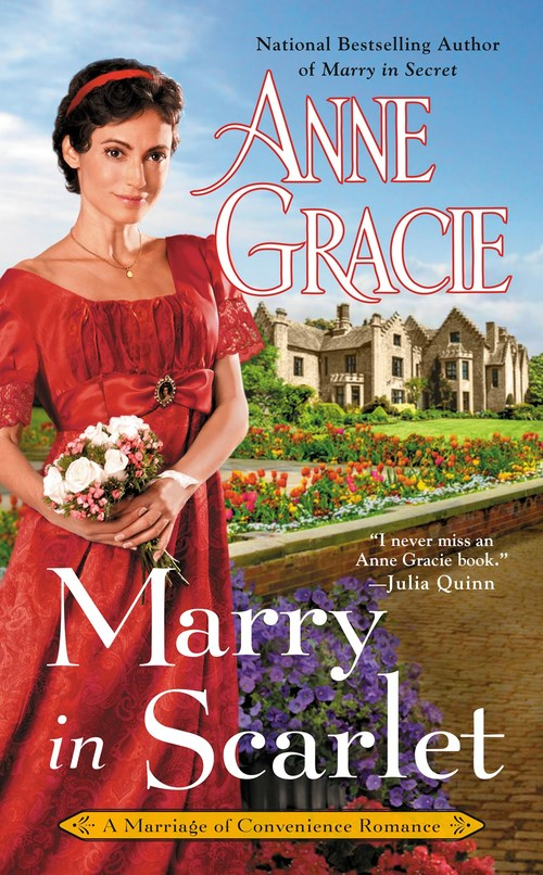 Marry in Scarlet by Anne Gracie