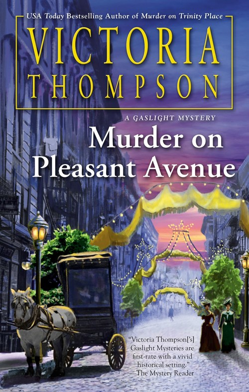 Murder on Pleasant Avenue by Victoria Thompson