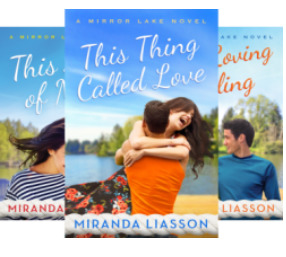 Mirror Lake - Three Book Series by Miranda Liasson