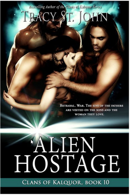 Alien Hostage by Tracy St. John
