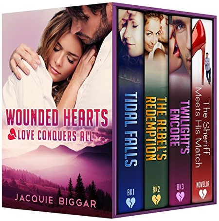 Wounded Hearts: Love Conquers All by Jacquie Biggar