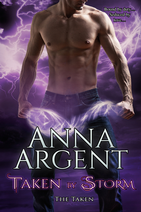 Taken by Storm by Anna Argent