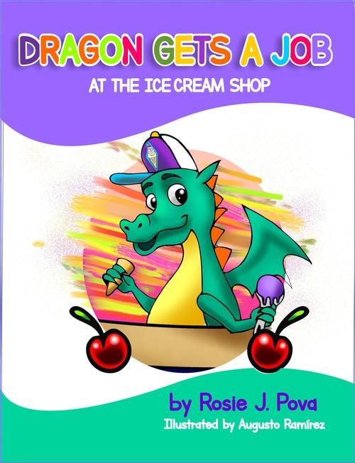 Dragon Gets A Job at the Ice Cream Shop