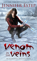 SPECIAL GIVEAWAY from Jennifer Estep: Win VENOM IN THE VEINS