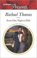 GUEST POST GIVEAWAY! Rachael Thomas - FROM ONE NIGHT TO WIFE