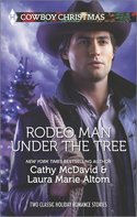Rodeo Man Under the Christmas Tree
