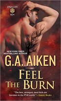 Win a Reviewer�s Copy of Book 8 in the Dragon Kin series FEEL THE BURN from G.A. Aiken