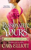 GUEST POST GIVEAWAY! Cara Elliott - PASSIONATELY YOURS
