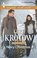 Enter to Win NAVY CHRISTMAS, a Whidbey Island Series Book, and Ornament from Geri Krotow!