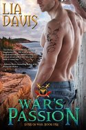Win an eBook copy of WAR'S PASSION (Sons of War #1) from Lia Davis