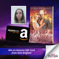 Celebrating the new cover for Desert Sunrise by Gina Briganti (Natural Gifts #2)
