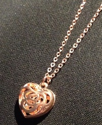 Win a Rose-Gold Heart Necklace & Carol Rose's WILD WOMAN!