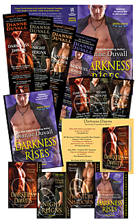 Spend the Hot Summer Nights with Dianne Duvall�s Immortal Guardians!