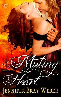 Pirates and Pamper! MUTINY OF THE HEART paperback and a $25 Bath & Body Works Giveaway from Jennifer Bray-Weber!