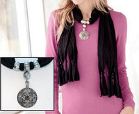 Fall into Fashion with a Pendant Scarf from Gemma Halliday!