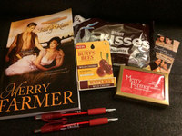 Love and Kisses: Historical Western Romance TRAIL OF KISSES by Merry Farmer, chocolate, and MORE!