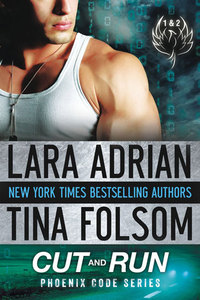 Enter to win CUT AND RUN, the new Romantic Suspense novel from NYT bestselling authors Lara Adrian and  Tina Folsom!