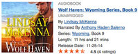 Win a Free Audible.com Copy of WOLF HAVEN by Lindsay McKenna!
