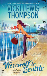WEREWOLF IN SEATTLE and a $25 B&N gift card from Vicki Lewis Thompson!