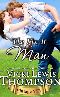 THE FIX-IT MAN and a $25 Amazon Gift Card from Vicki Lewis Thompson!