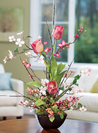 Win a Stunning Bouquet of Spring Flowers and an Autographed Copy of DOGWOOD HILL from Sherryl Woods!