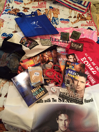 WIN a Military Romance SWAG Bundle and Books from Sharon Hamilton!