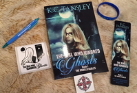 Enter to Win this Hot Summer Release Giveaway: Signed Copy of THE GIRL WHO IGNORED GHOSTS and Goodies from Kourtney Heintz