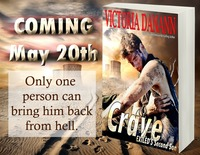 Win CRAVE in Victoria Danann�s May Book Giveaway!