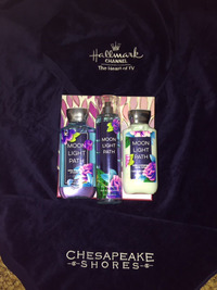 Sherryl Woods Gives Away Beach Towel & Spoil Me Bath Products To Celebrate Hallmark Channel Chesapeake Shores Series Launch