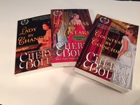 Win 3 Autographed Marriage-of-Convenience Books from Cheryl Bolen