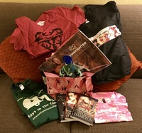 Win a Pink Swag Bag with Lots of Goodies from Sharon Hamilton