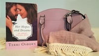 Terri Osburn Wants To Accessorize You This Spring!  You can WIN a Genuine Leather Purse!