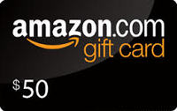 WOW! Get a $50 Amazon Gift Card from Gloria Craw!