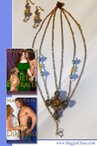 You can WIN a Book and Jewelry from author Maggie Chase!