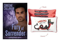 Coreene Callahan�s Sexy Dragon Shifters Heat Up the Dog Days of Summer with a Hot New Release and Sequined Pillow!