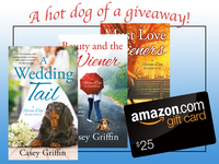 A Hot Dog of a Giveaway! Win a Romance Series and a Gift Card from Casey Griffin!