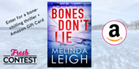 Melinda Leigh helps to beat the summer heat, with bone-chilling thriller and more!