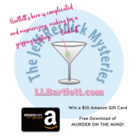 Celebrate June with L.L. Bartlett, thriller author. Let's get shopping and (reading)