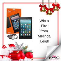 Enjoy the holidays on a new Kindle Fire thanks to Melinda Leigh!