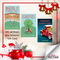 Have a Heartwarming Holiday in Kinsey Falls with Books and an Amazon Gift Card from Gayle Leeson
